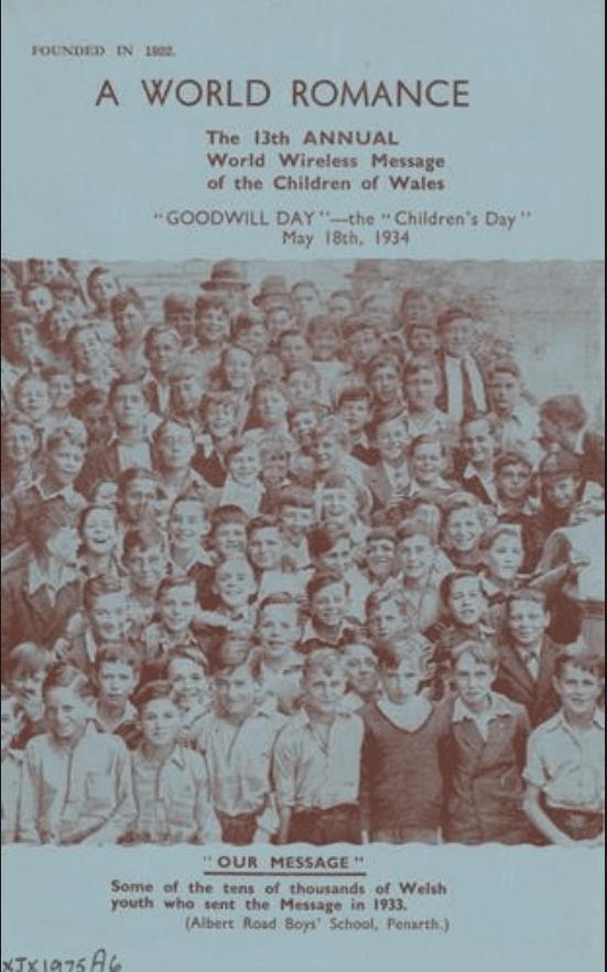 Urdd Gobaith Cymru Poster 1