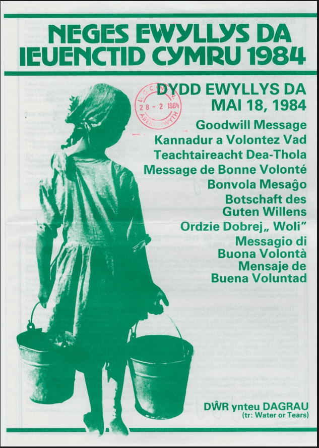 Urdd Gobaith Cymru Poster 3